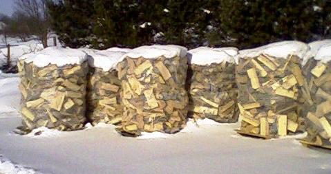 dřevo v zimě1
